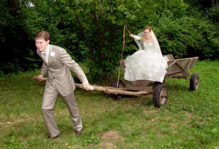 55 самых смешных фото с сельских свадеб