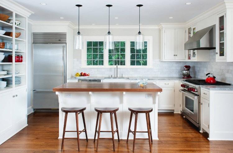 Кухня-студия: идеи красивого оформления, 35 фото