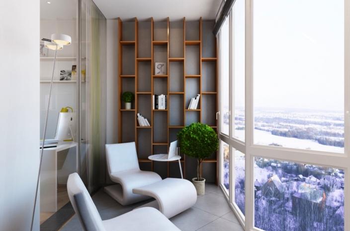 50 идей красивого оформления балконов