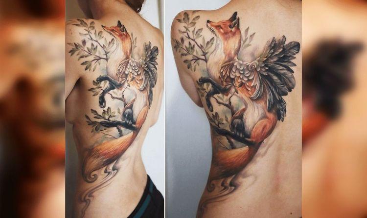Захватывающие татуировки, которые никого не оставят равнодушным