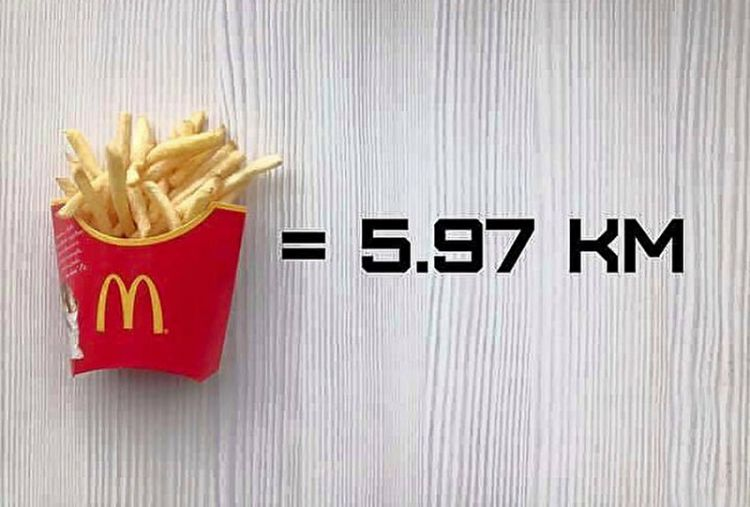 сколько километров «стотт» еда